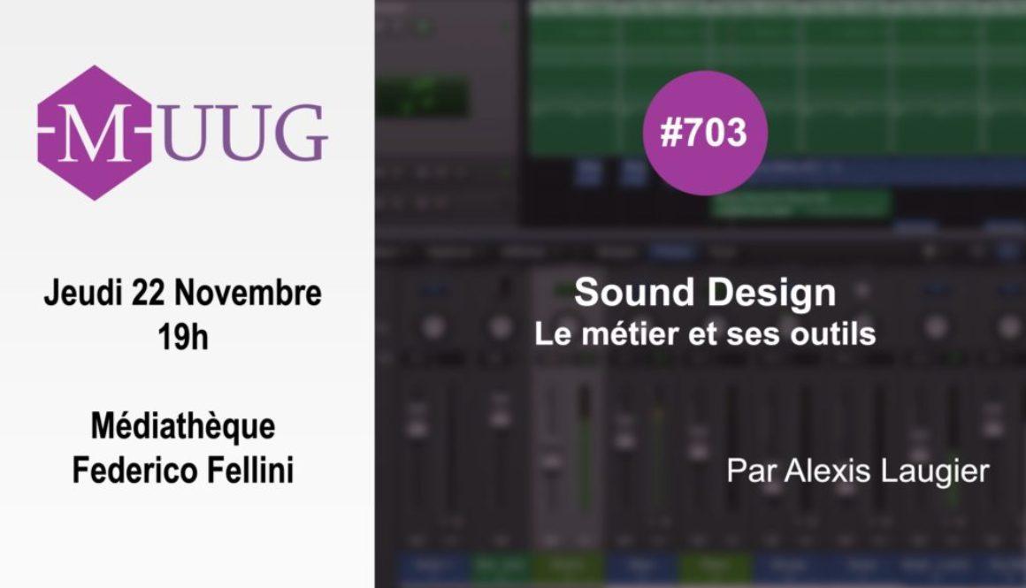 MUUG#703 - Sound Design
